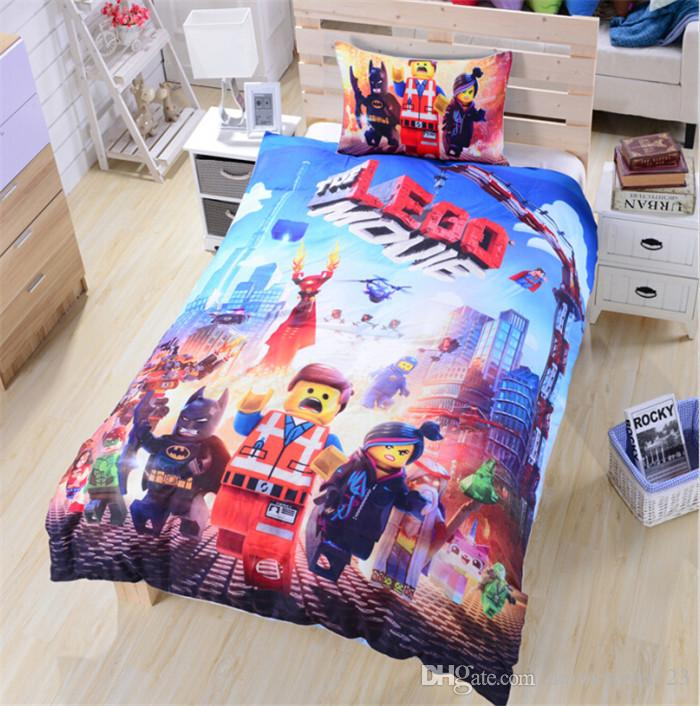 New Arrive High Quality Lego Bedding Duvet Cover Set Lego Movie Teen Boys Bedding  Twin Full Queen D310 Toddler Bedding Sets Duvet Insert From Daimengba123,  ...