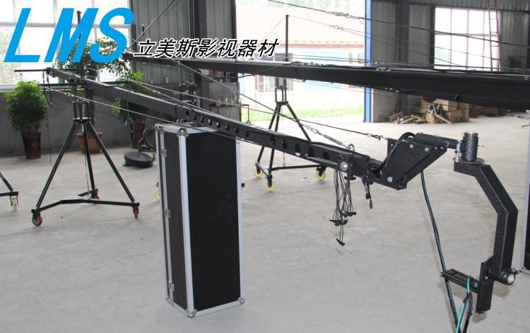 Camera Crane Jib Professional DV camera crane jib arm with 8m triangle electronic control rocker arm