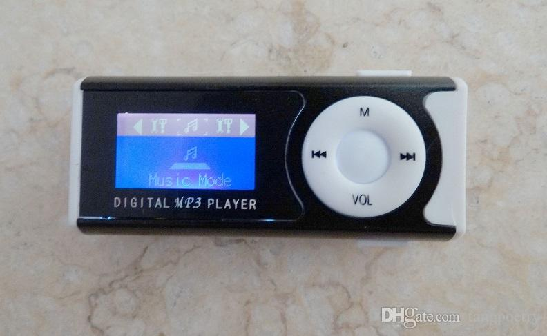 Best selling mini mp3 player with LCD screen built in speaker music Support 2GB 4GB 8GB 16GB 32GB TF card MP3 player