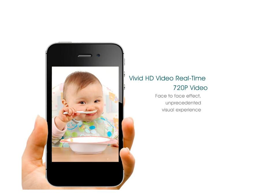 FI-366ワイヤレスWiFiクラウドIPサーベイランス720p HD双方向オーディオリモートモニタリングビデオレコーディングライブストリーミングナイトビジョン