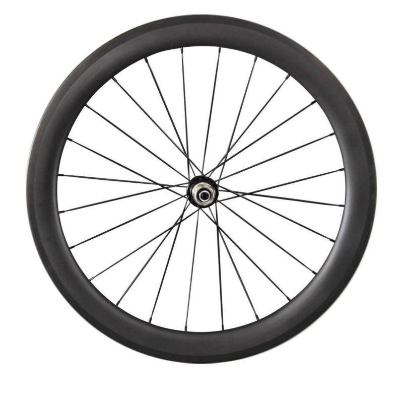 Atacado 23mm largura rodado bicicleta chinesa 60mm clincher rodas de carbono 100% T700C carbono estrada bicicleta roda de carbono