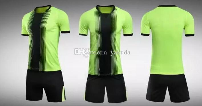 3040df3de 2019 Personalized Blank Soccer Jerseys Sets