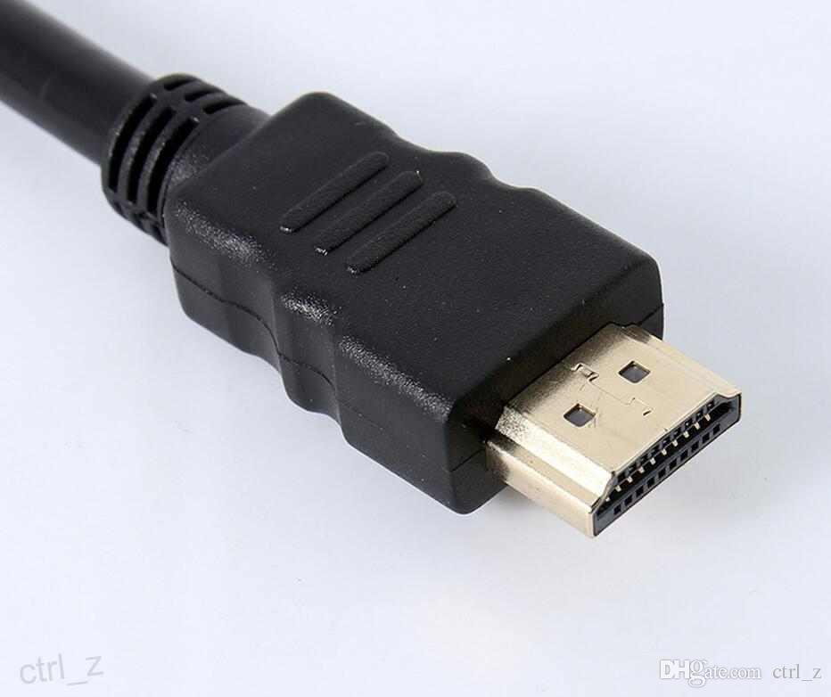 Hot HDMI Mâle à 2 HDMI Femelle 1 dans 2 Sortie Splitter Câble Adaptateur Convertisseur Soutien 480i, 480p, 720p, 1080i, 1080p