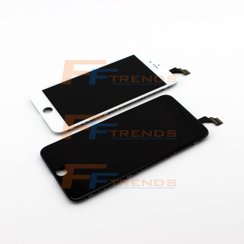 Передняя часть замены агрегата Цифрователя экрана касания дисплея LCD полная На iPhone 6 6G дисплей LCD 4,7 дюймов