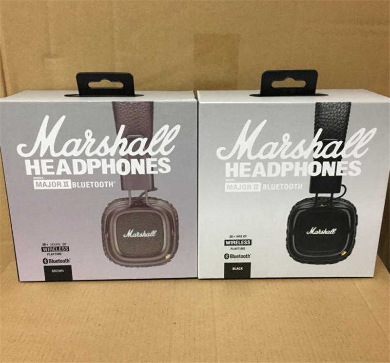 3dcc0d875b Acquista Marshall Major II 2.0 Cuffie Wireless Bluetooth Nere Marroni  Cuffie DJ Studio Cuffie Auricolari Cuffie Auricolari Profonde A $35.18 Dal  Yaofei889 ...