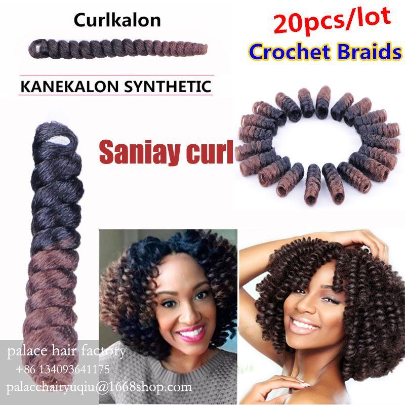 Compre Nuevo Bouncy Curl Pelo De Ganchillo Toni Curl 1b / 30 # 10 ...