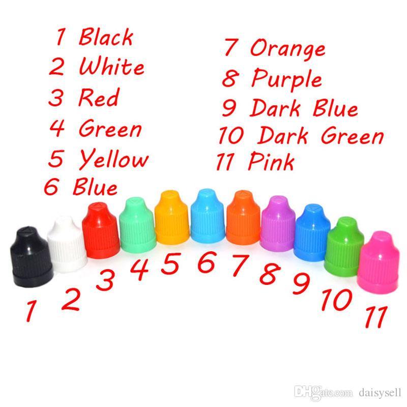 Vape E-juice E-líquido E-cig Botella cuentagotas de plástico 5ml 10ml 15ml 20ml 30ml 50ml 100ml 120ml Botella de aceite de aguja PE con tapa a prueba de niños