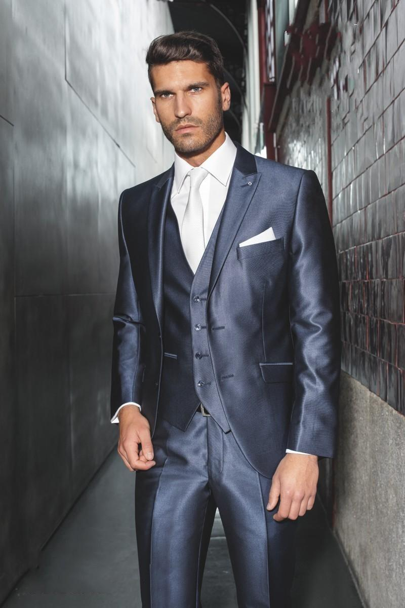 2015 Fall Fashion Men Wedding Suit Groom Suits Design For Wedding ...