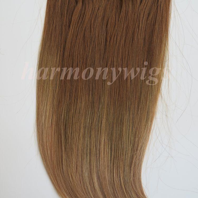 220г 10шт/1 компл. клип в наращивание волос 20 22 дюйма T814# цвет braziilian Индийский Реми человеческих волос бесплатная расческа