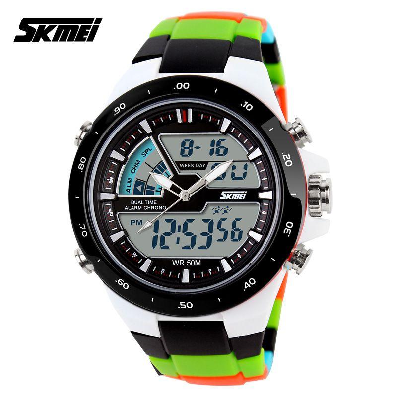 Skmei 1016 Hommes Montres Top Marque De Luxe De Mode Casual Montre Militaire Hommes Sport Montre Homme Horloge Étanche Relogio Masculino