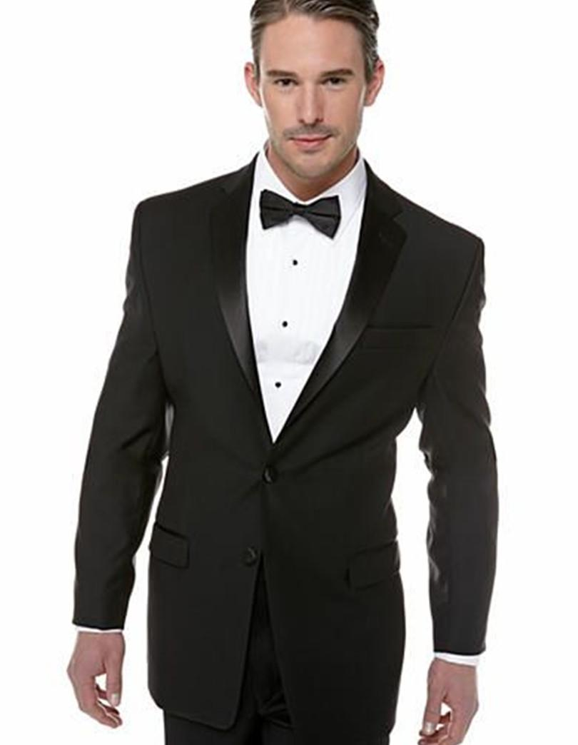 2017 Suit Men Top Selling Groom Suits Shiny Collar Black For 2015 ...