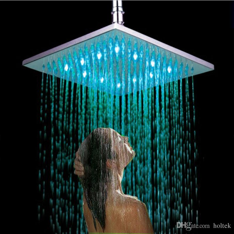 New Arrival Full Copper 8 Inch Overhead LED Rainfall Shower Head ...