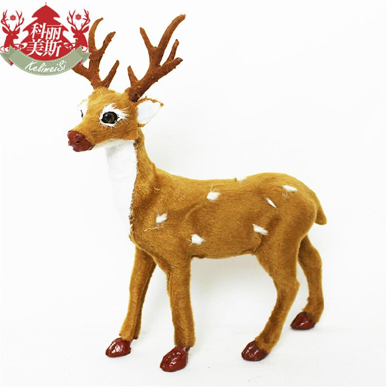 xmas holiday party decor xmas reindeer christmas tree decoration