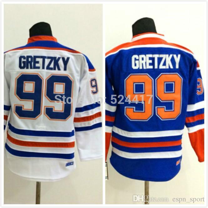 fd0f1ef7d Youth 99 Wayne Gretzky Jersey 99 Gretzky Hockey Jersey Best Stitched ...