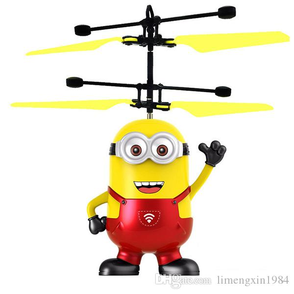 Flying Ball Cartoon Air RC Helicopter Captain America hero Kids Teenagers Flying toys DHL free