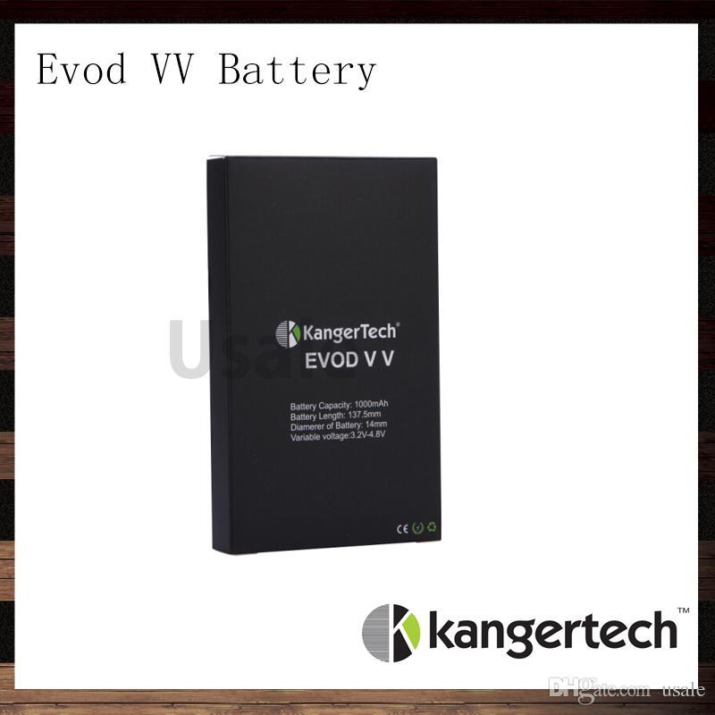 بطارية كانجير Evod VV بطارية Kangertech Evod ذات الجهد المتغير 1000 مللي أمبير في الساعة