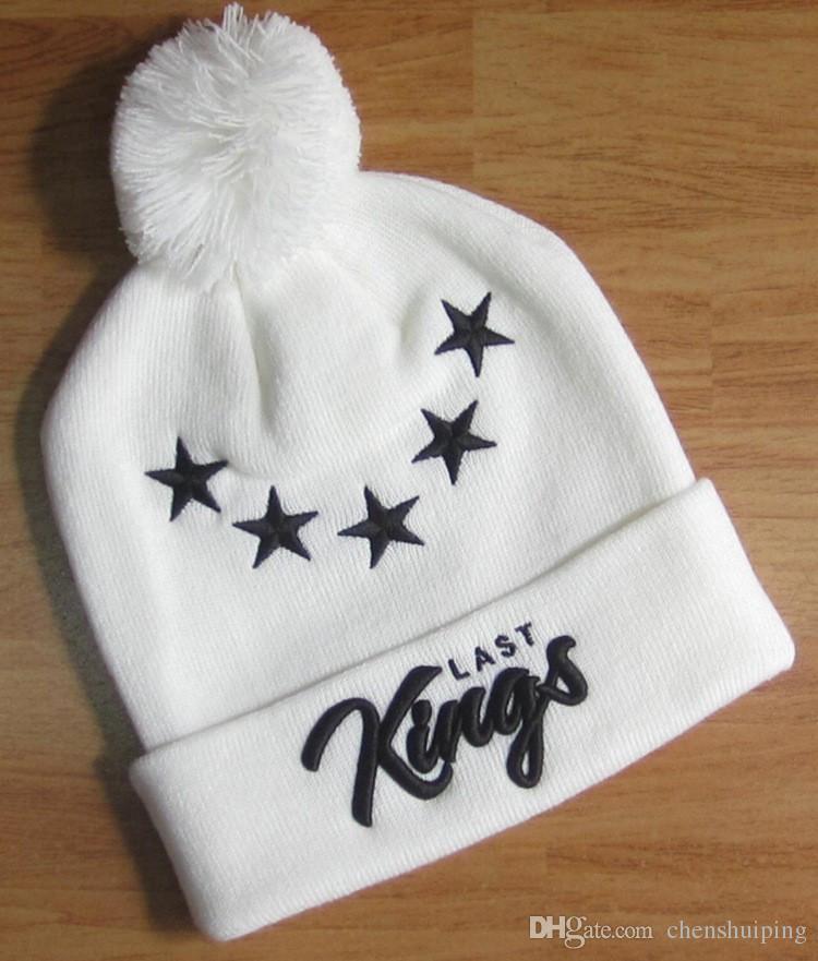 Kings Beanies Fashion Skull Caps New Style Beanies Winter Pom Pom Beanies Sporting Beanies Brand Hip Hop Hat Men Women ball Hats