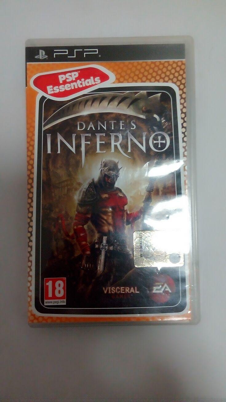2017 Dante'S Inferno Psp EssentialsUmd For Psp GamePsp ...