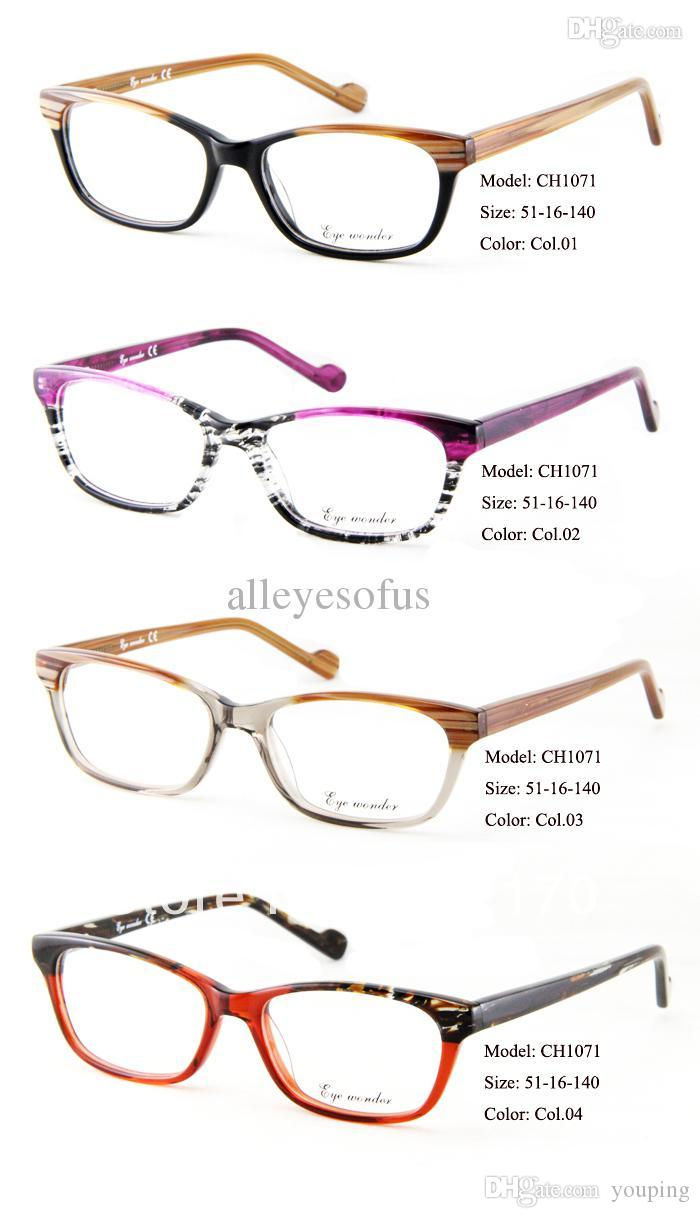 2018 2015 New Arrivals Fashion Glasses Brand Designer Frames Women ...