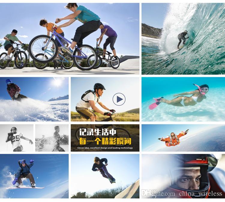 SJ5000 Spor Eylem Video Kamera Kamera Full HD 1080 P 12MP Araba DVR kaydedici 2 inç LCD Ekran 4X Zoom 30 M Su Geçirmez Hiçbir Wifi