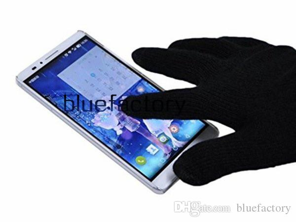 Smartphone Wireless Touch Screen Mobile Headset Speaker Bluetooth Gloves Built-in Speaker Microphone for iphone 6s Samsung S6 HTC