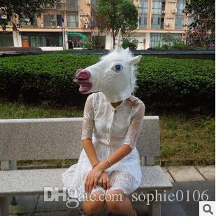 GN M005 Unicorn mask men mask women mask cosplay mask costume mask scared mask