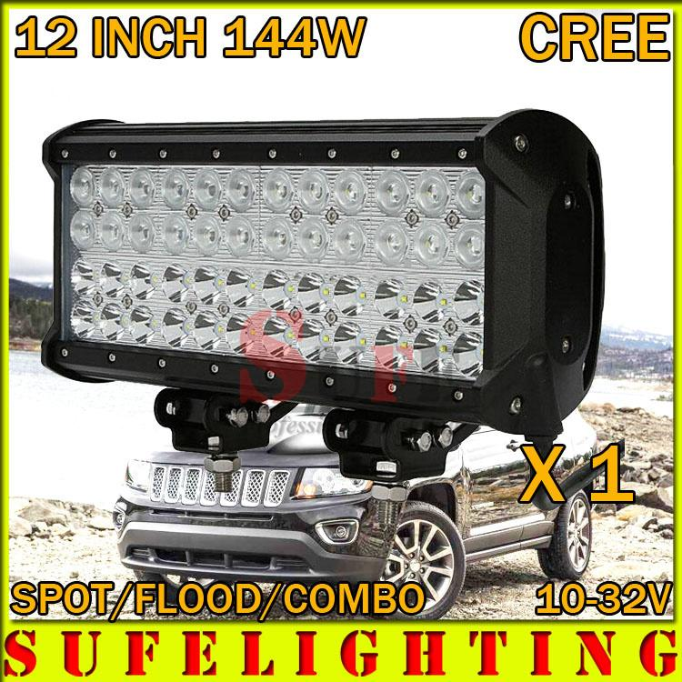 12 inch 4 row 144w cree led light bar combo for offroad atv 4x4 suv 12 inch 4 row 144w cree led light bar combo for offroad atv 4x4 suv led driving light bar fog lamp 240w led light on led light portable from aloadofball Images
