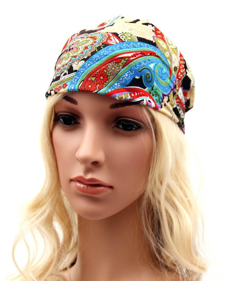Lady Bohemian Colorful Hair Band Women Fashion Make Up Wash The Face Hair  Accessories For Choose Chiffon Headband Hair Accessories For Ladies Sparkly  Hair ... e1cf4a22728