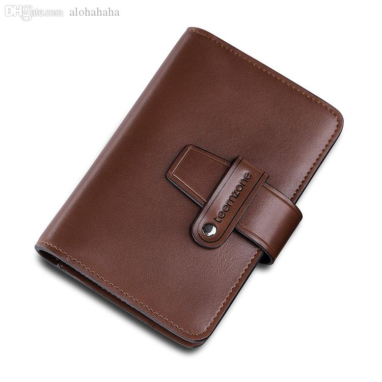 Wholesale teemzone mens genuine real leather cowhide business wholesale teemzone mens genuine real leather cowhide business credit card case holder id document pocket business card holder leather buy wallets from colourmoves