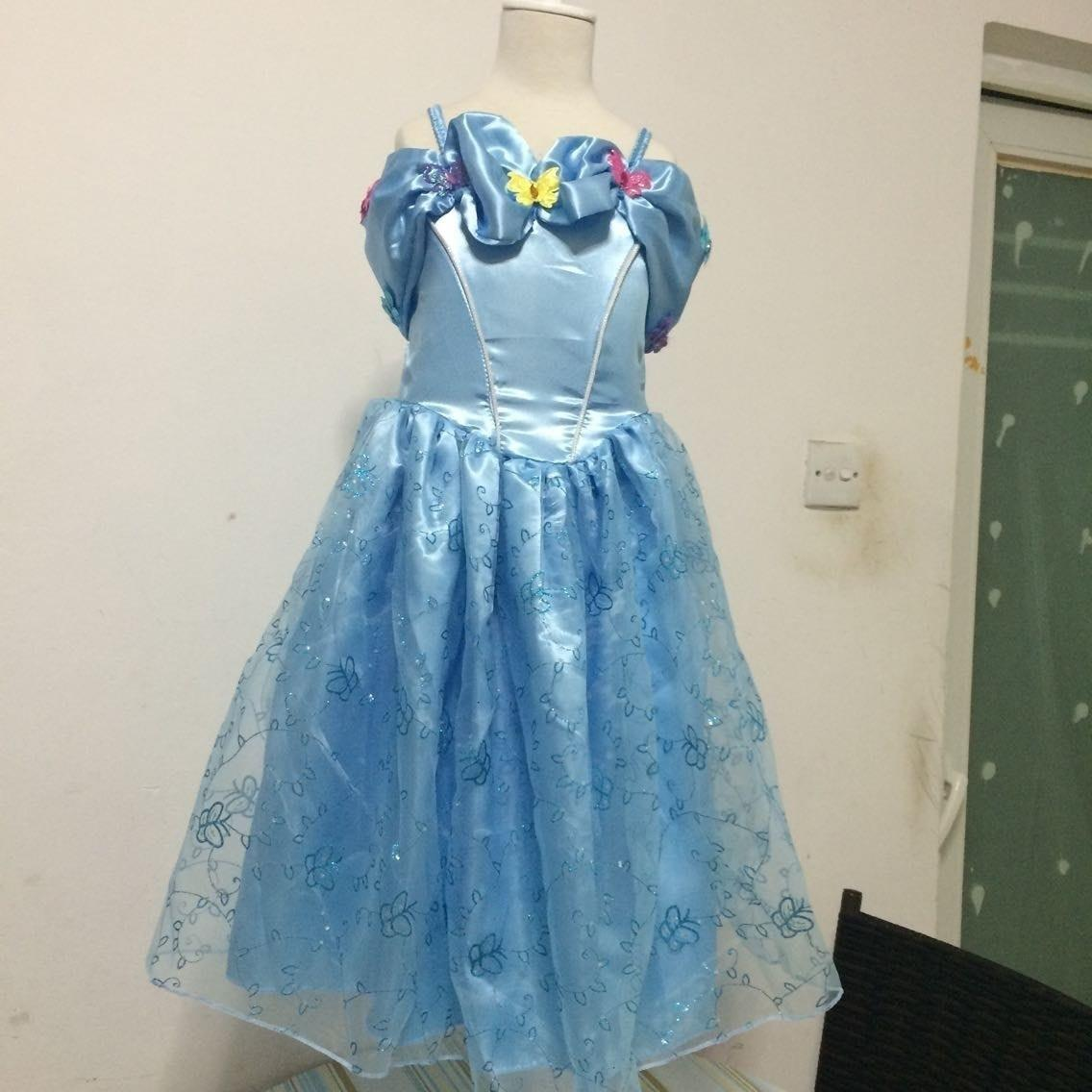 1ada51009 2019 2015 Newest Cinderella Dress For Kids Children Cinderella ...