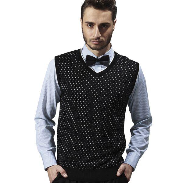 Best Sweater Vest For Men 2015 Men'S Vest Casual Business Slim V ...