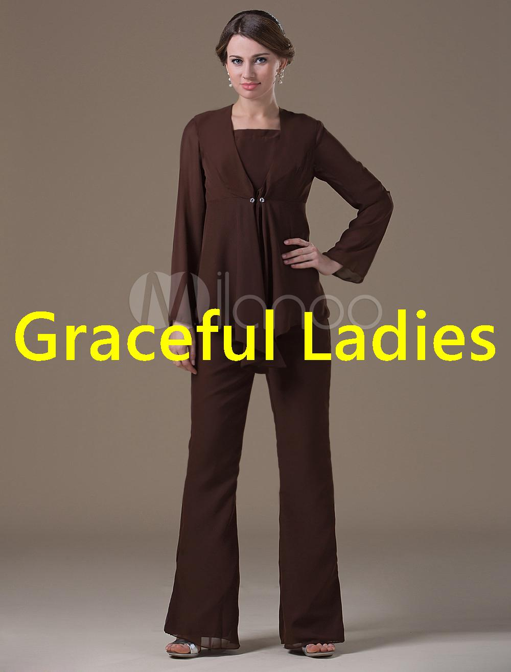 Cheap Mother Of Bride Pant Suit Mothers Dress For Wedding Chocolate Mother  Formal Wear Suit Mothers Of The Bride Dresses Plus Size Mothers Dress For  Wedding ...