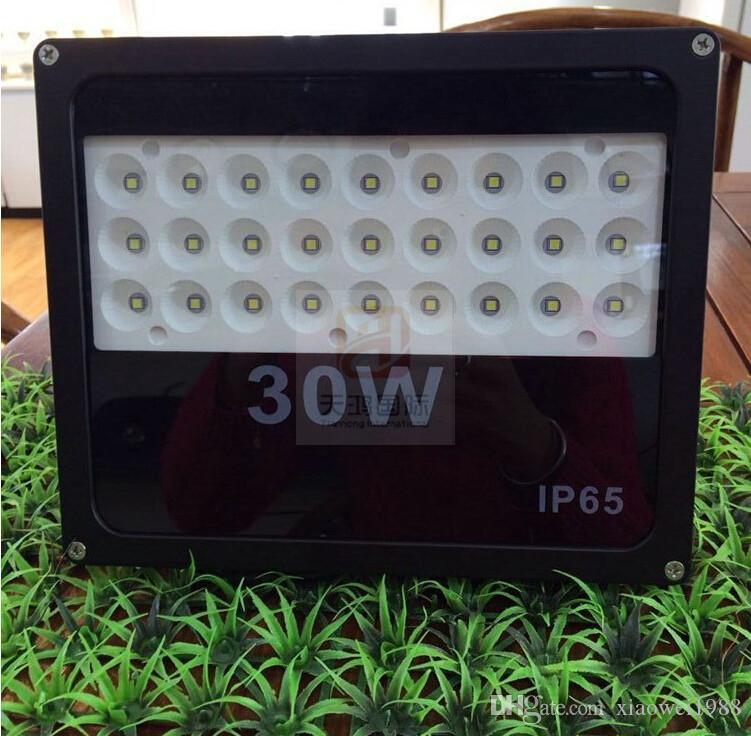 2016 Brand New 10W 20W 30W 50W 100W IP65 Led Прожекторы Wateproof Открытый Высокая яркость SMD 3535 Светодиодные прожекторы AC 85-265