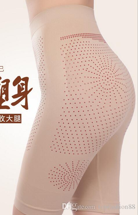 Sexy Control Panties for women Shapers Fitness pants Boyshort Far-infrared magnetic therapy slimming pants Seamless underwear
