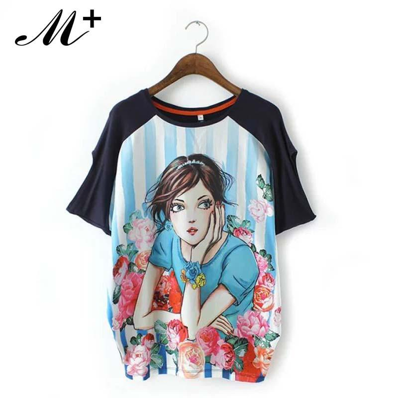 825bde2f0f68 Beautiful Summer New Models of Digital Printing Female Short Sleeve ...