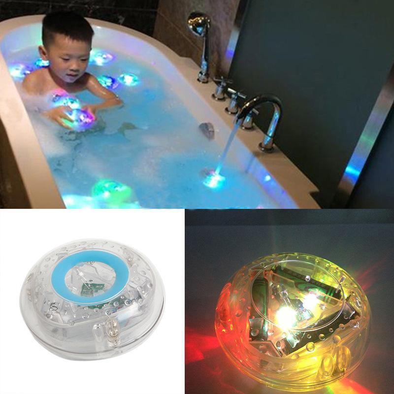Discount Pool Led Night Light Bubble Lights Colorful Floating Bath