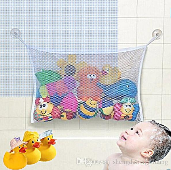 Large Bath Toy Storage Bag For Kids Baby Bath Tub Toy Bag Hanging Organizer  Storage Bag Baby Bath Toys Bag