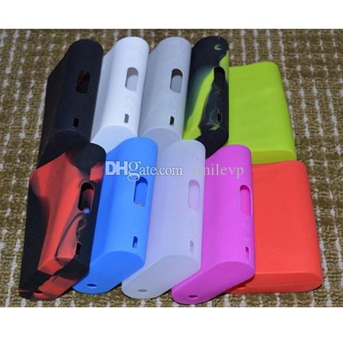 Nueva bolsa de funda de silicona Ecig Funda de goma colorida Cubierta protectora Piel de gel de silicona para Kanger Nebox
