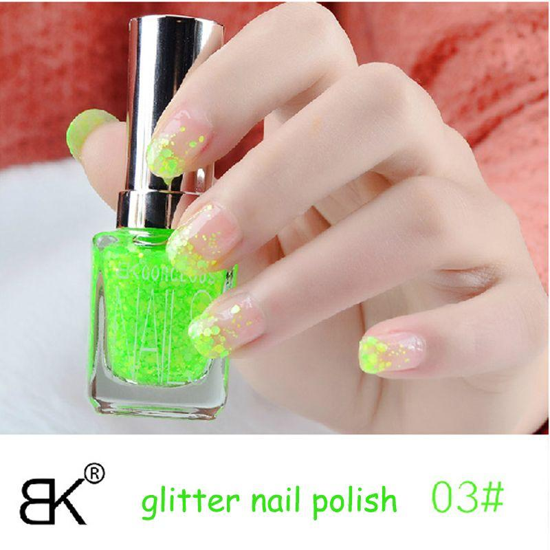 New Glitter Nail Polish Set Brand Bk Cosmetic Color Nail Polish Nail ...