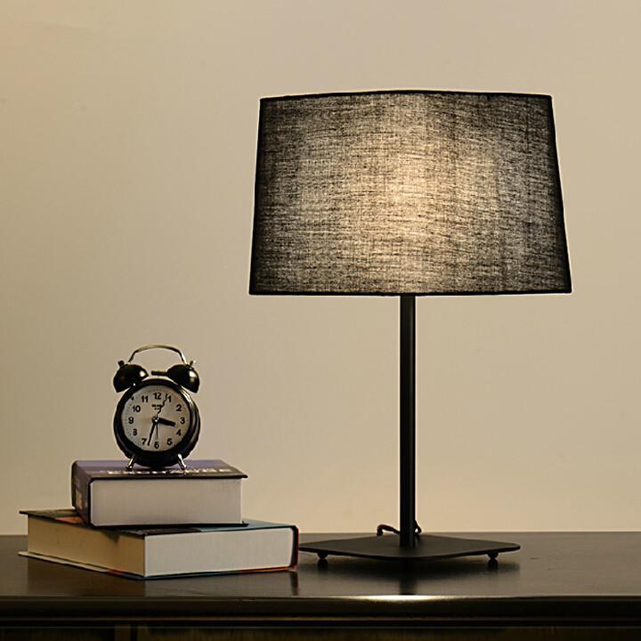 Desk Light For Art: Modern Creative Desk Lamps Cloth Art Table Lamp Black