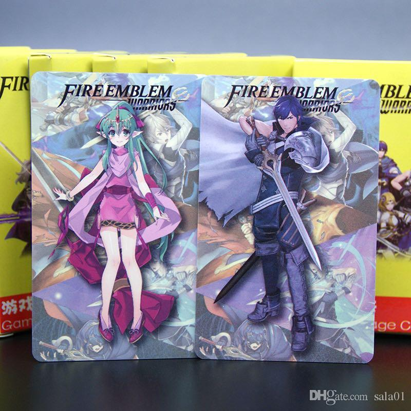 12PCS Full Set Fire Emblem Warriors Amiibo NFC TAG Cards for New 3DS Switch  / Wii U