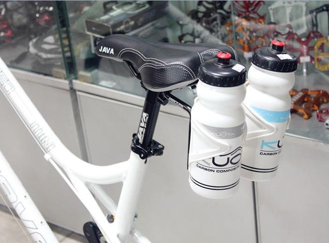 2018 Minoura Sbh 300 Triathlon Bike Saddle Seat Twin Bottle Cages