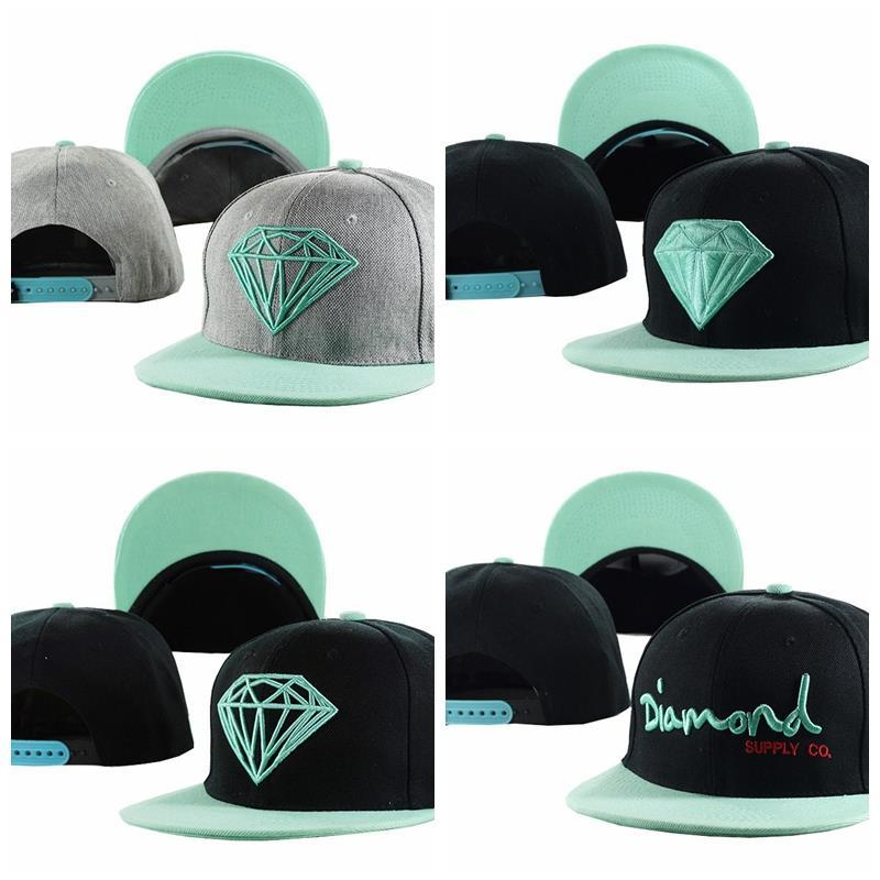 0c554baa14d 2019 Swag Mint Green Diamond Snapback Caps Hip Hop Cap Baseball Hat Hats  For Men Snapbacks Baseball Caps Gorras Bones Aba Reta Bon From  Sunnysleepvip4