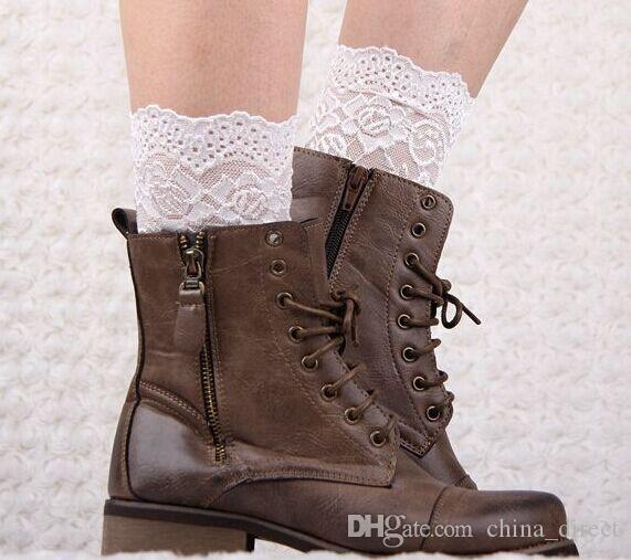 2015 Sexy Womens short Lace Ballet Dance Warm up knitted booty Gaiters Boot Cuffs Stocking Socks Boot Covers Leggings Tight #3922