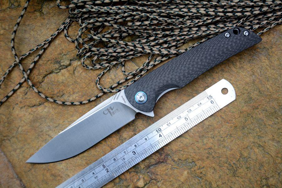 Ch3510 Folding Knife Vg10 Blade Ceramic Ball Bearing