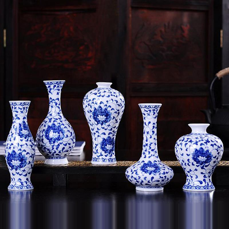 Vintage Home Decor Ceramic Flower Vases For Homes Antique