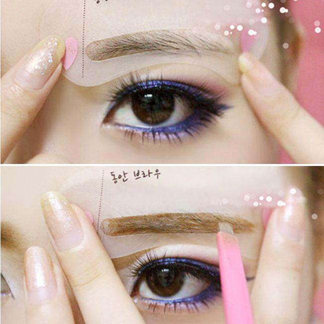 Eyebrow eyebrows card card card thrush artifact word eyebrow makeup eyebrow pencil tool to draw aid kit large sponge natural bath sponge from b121144507