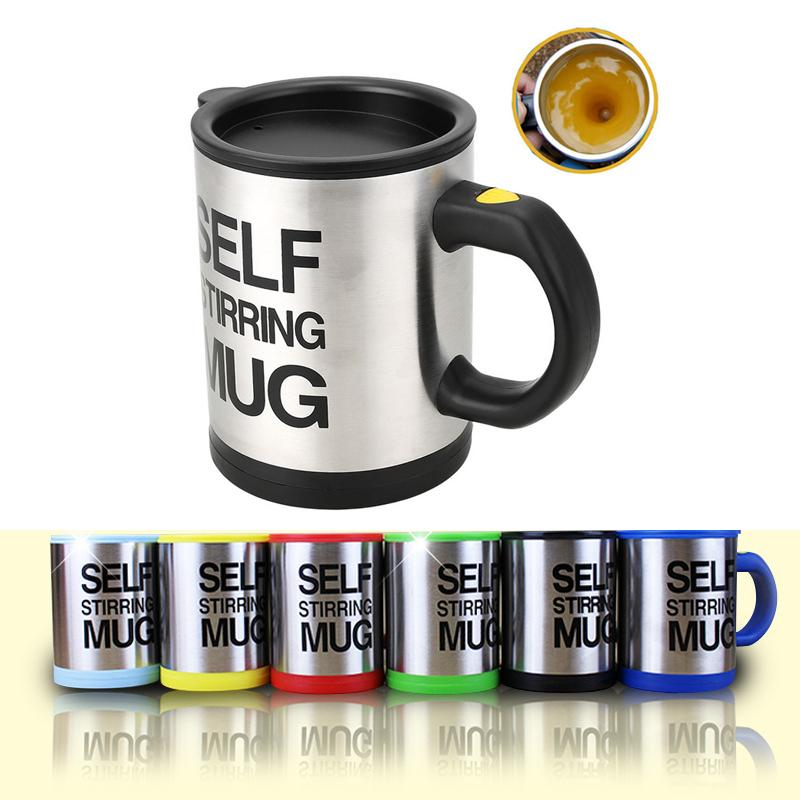bb3c60d927d Brand New Automatic Electric Self Stirring Mug Coffee Mixing Drinking Cup  Stainless Steel 350ml Self Stirring Coffee Mug With Retail Box