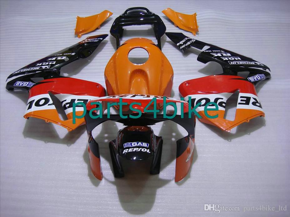 Marca Repsol naranja partes del cuerpo para Honda carenados CBR600RR 2003 2006 CBR 600RR 03 04 carenado kit CBR 600 RR CVYD
