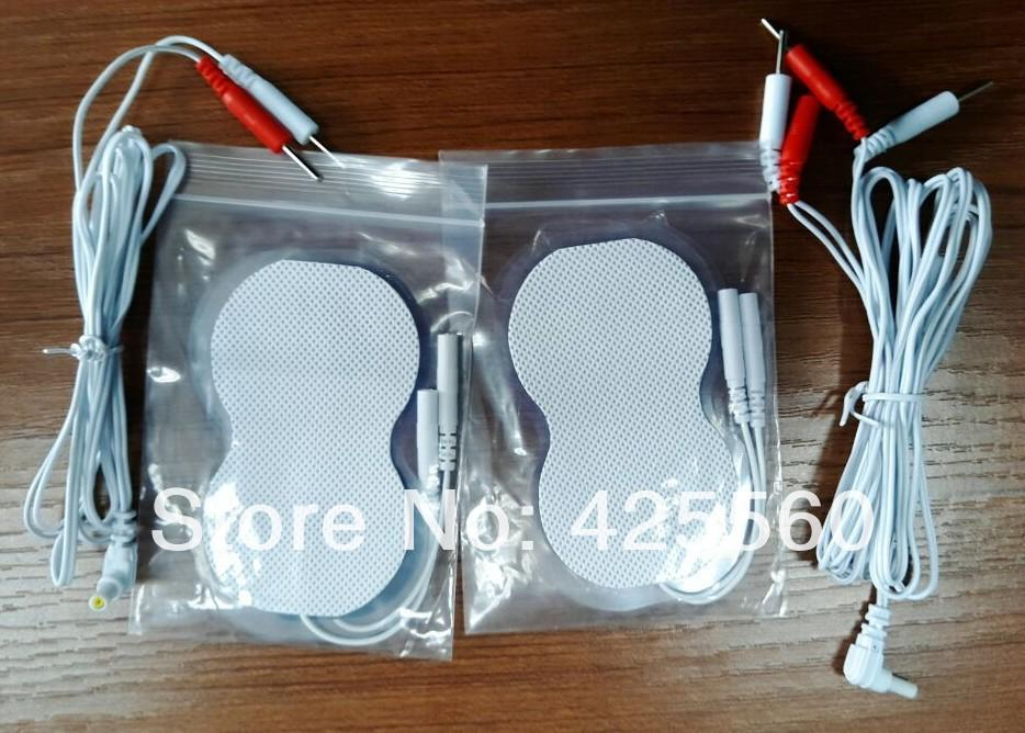 4 Pin Connector Cables + 2 Pin Electrode Jack 2.35mm Lead Wires + ...